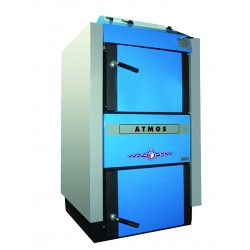 Cazan pe combustibil solid cu gazeificare ATMOS DC 22SX 22kW